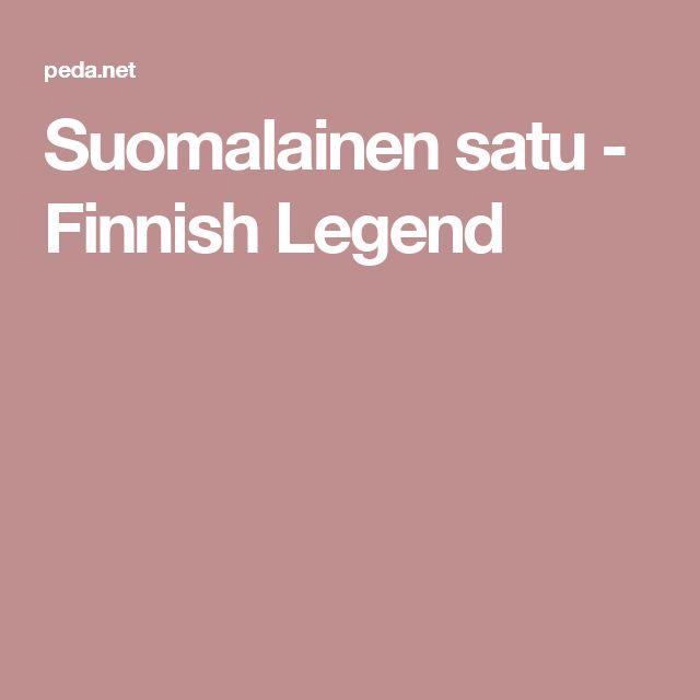 Suomalainen satu - Finnish Legend