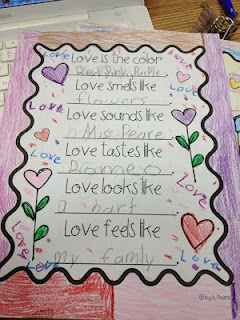 The Bubbly Blonde: Valentine writing