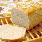 This is a simple and super yummy bread recipe! My 3 year old and I made this the other day! Just add some grains and seeds of your choice and you've got some healthy whole wheat bread!