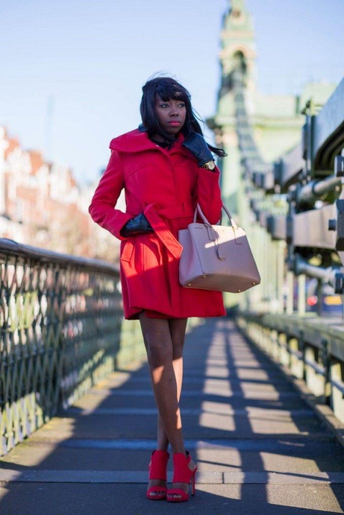 Prada saffiano lux tote, primark coat, zara heels