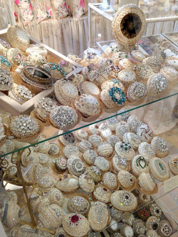 "Pasimenterie Ornaments an heirloom ""token of love"" By Jill Garber at lenouveaurose.com"