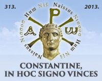 EDICT OF MILAN 313-2013, SERBIA: Office For Edict Of Milan Jubilee Celebration
