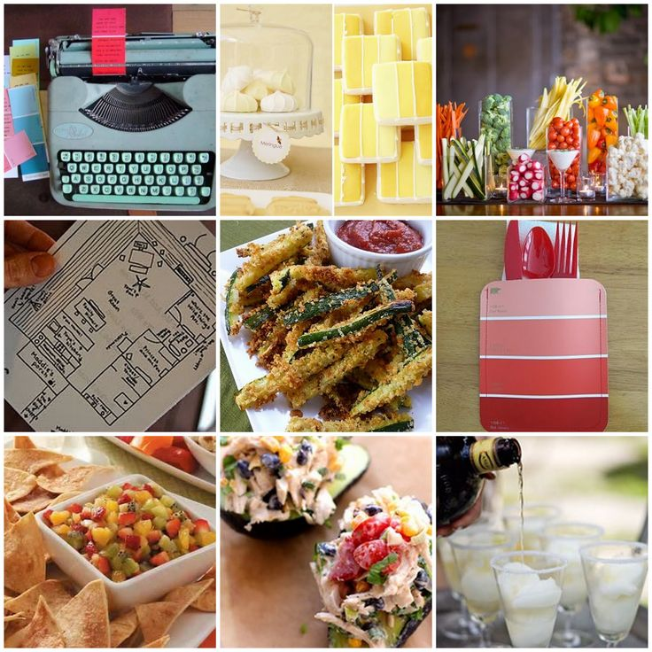 Housewarming party ideas welcome home pinterest for Housewarming food ideas