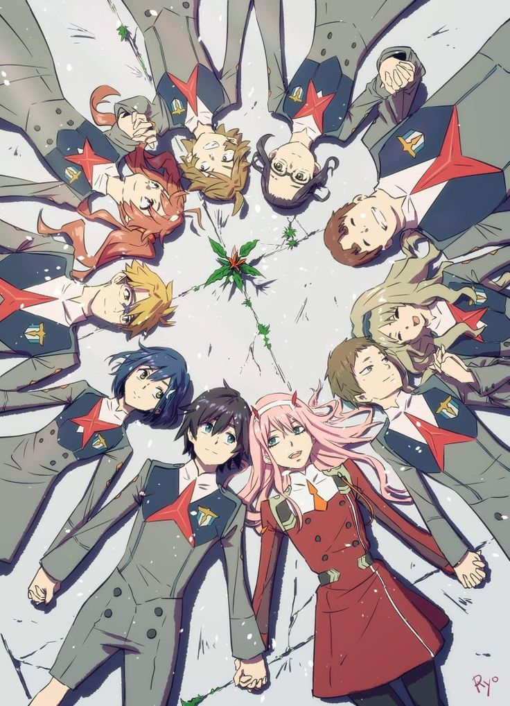 Pin by Саша on DARLING in the FRANXX Anime, Darling in