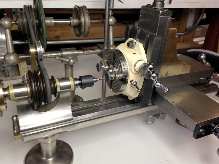 Mowrer Ww Lathe Tools Adapting The Micro Rotary Table To