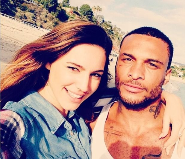 Kelly Brook Spotted Dining With Fiance David McIntosh #DavidMcintosh, #KellyBrook, #LosAngeles, #Mexico, #News