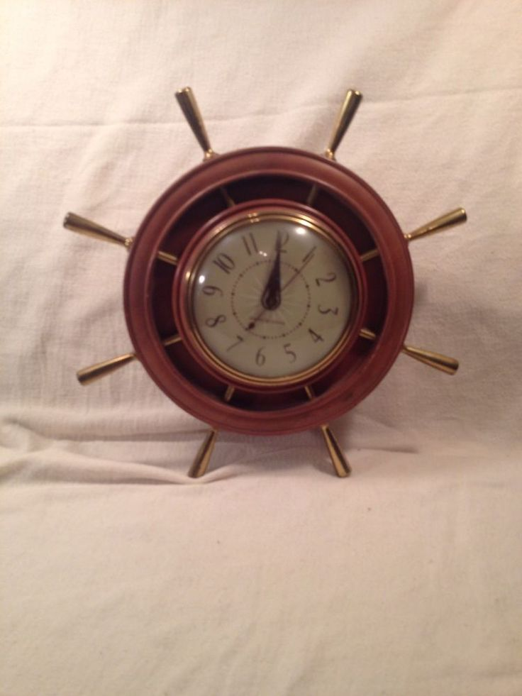 GTC Nautical Electric Clock General Electric Works | Collectibles, Clocks, Vintage (1930-69) | eBay!