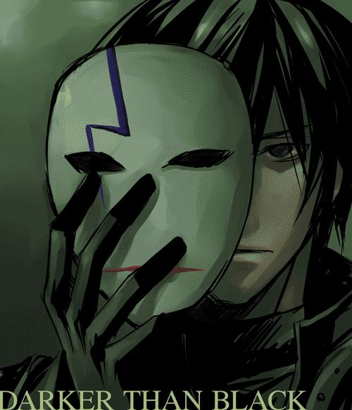 Darker Than Black. I freaking LOVE this series. If you've never seen it, shame on you.