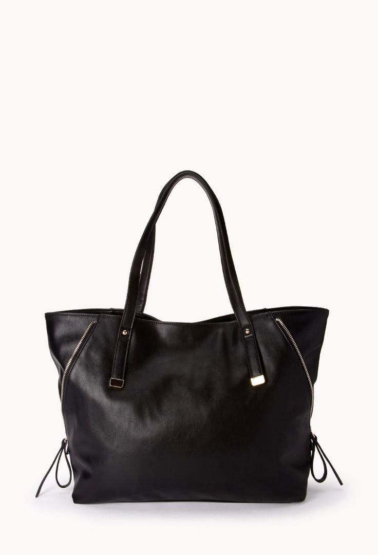 Everyday Faux Leather Tote | FOREVER21