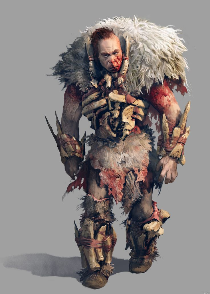 Far Cry Primal Concept Art