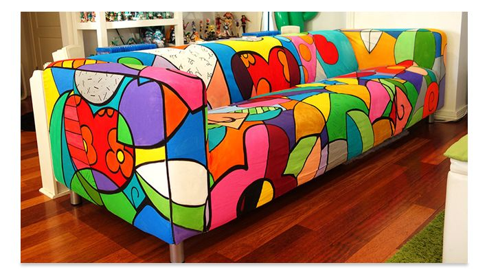 Britto inspired lounge