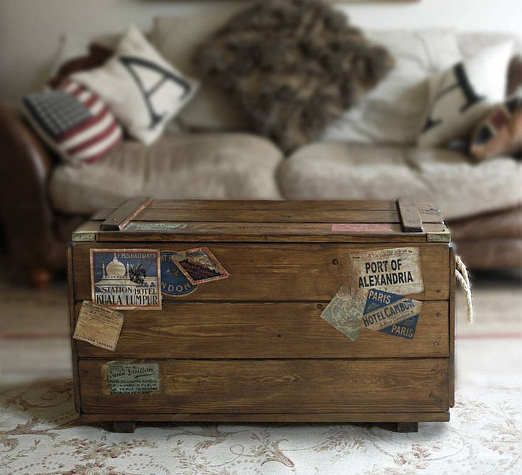 retro steamer travel trunk by daughters of the revolution | notonthehighstreet.com