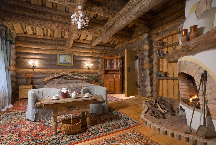 То же неделание, только в профиль - Интерьеры деревянных домов
