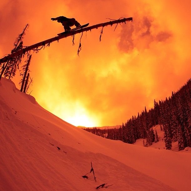 cool picture of snowboarding