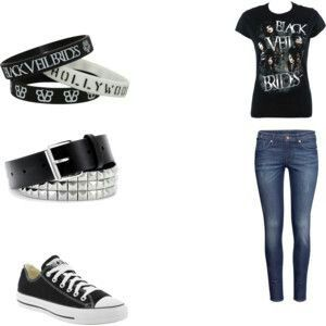 Bvb Outfit I Got From A Quiz On Quotev Outfits Pinterest Outfit And Quizes