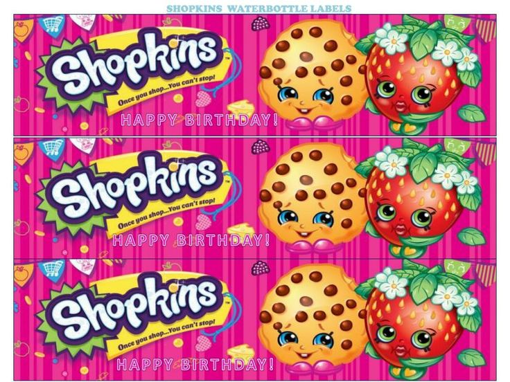 photograph about Free Printable Shopkins Food Labels titled 100+ Shopkin Food stuff Label Printables yasminroohi