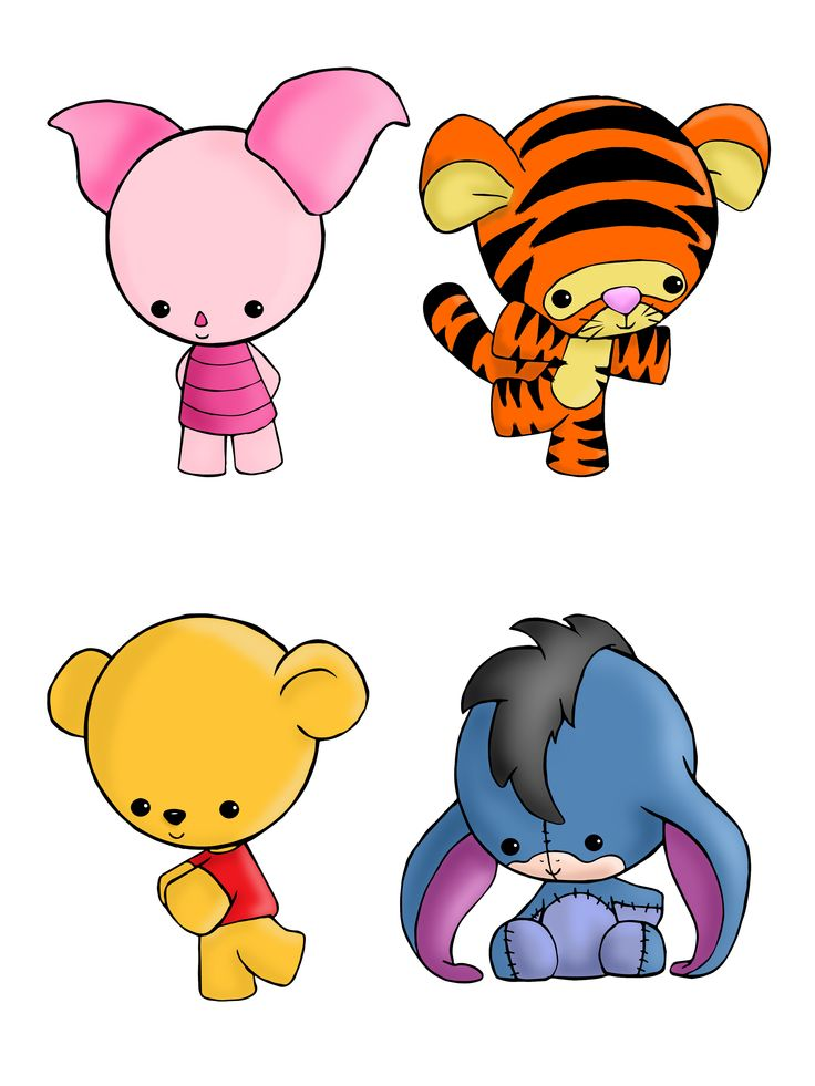 Winnie the Pooh Set! Available on shirts and as stickers here: http ...