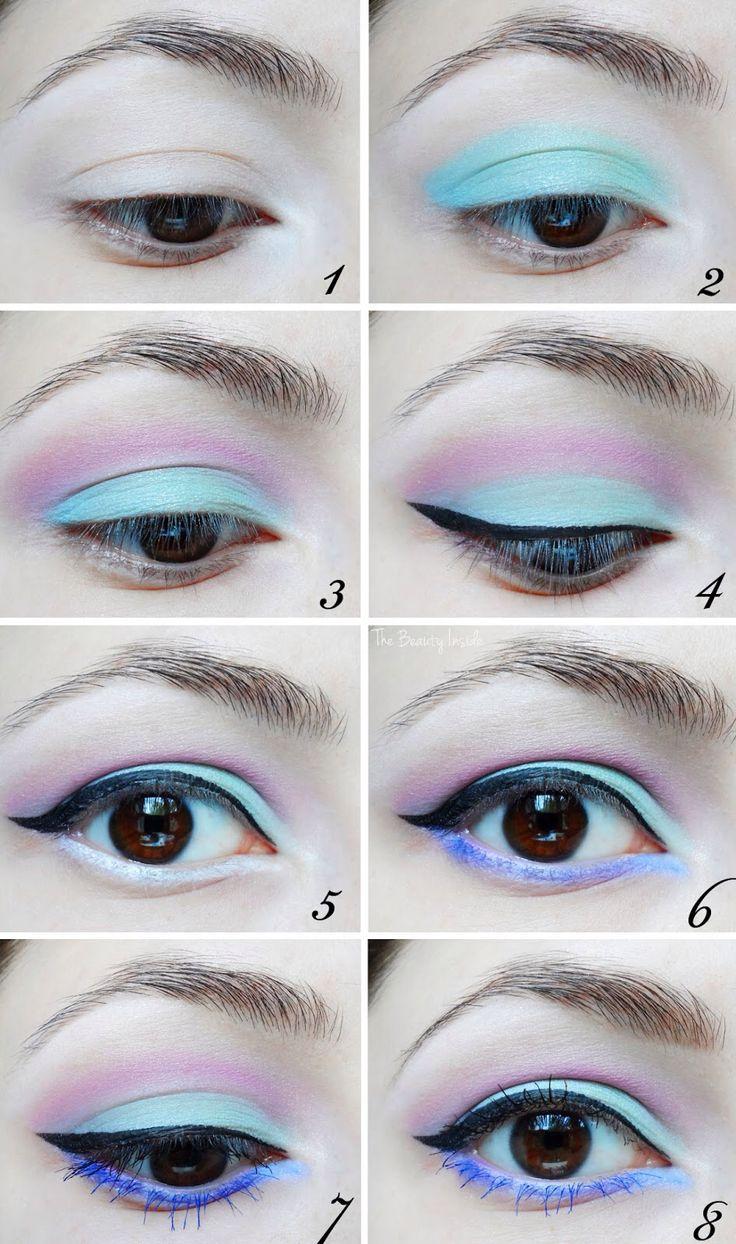 Pastel goth makeup tutorial