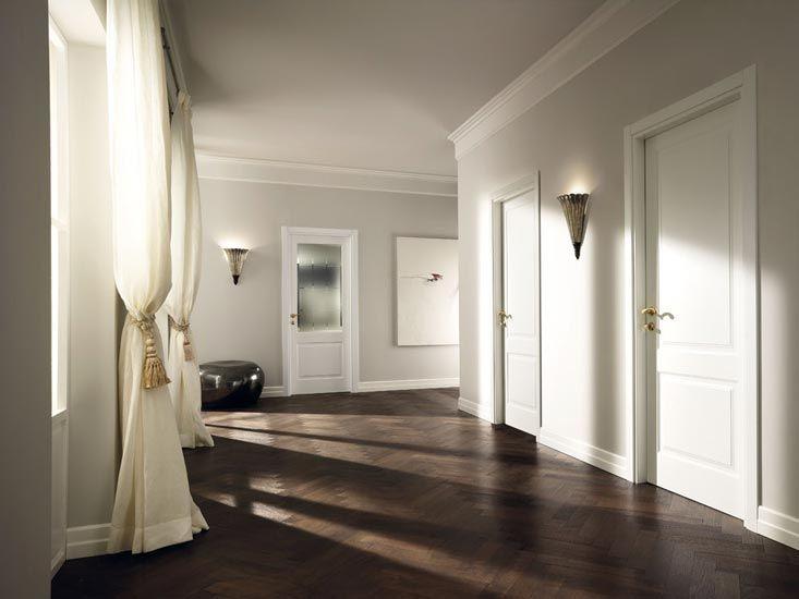 białe drzwi wewnętrzne aranżacje - Szukaj w Google