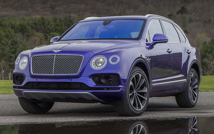 2018 Bentley Bentayga overview