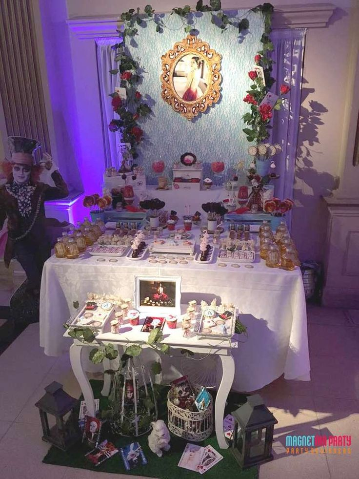 722 Best Ideas About Alice In Wonderland Party Ideas On
