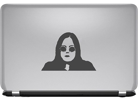 Rae Earle Vinyl Decal My Mad Fat Diary
