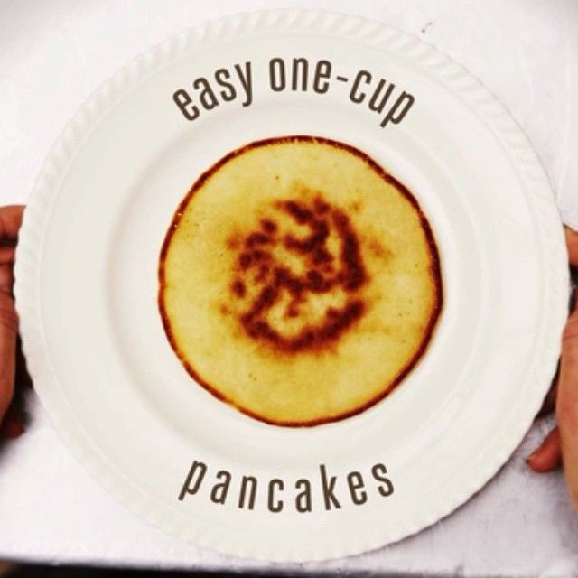 Morning all #Recipeoftheday my Easy one-cup pancakes! Just 1 Egg, 1 cup self-raising flour, 1 cup of milk, pinch of salt. Whisk it up! Pour into a hot frying pan and FLIP! You don't even need scales to weigh out the ingredients – all you need is a cup or a mug! Then just add your favourite topping. Proper easy! Tag in your friends and show them how it's done. ENJOY Jamie #PancakeDay #ShroveTuesday