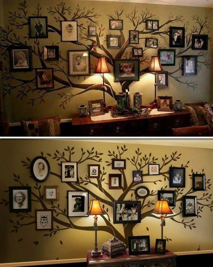 Family tree display art for the classroom.