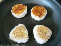 Bento-Mania.....verrückt nach der japanischen Lunch Box: Rezept: Yaki-Onigiri (gebratene/ gegrillte Onigiris)