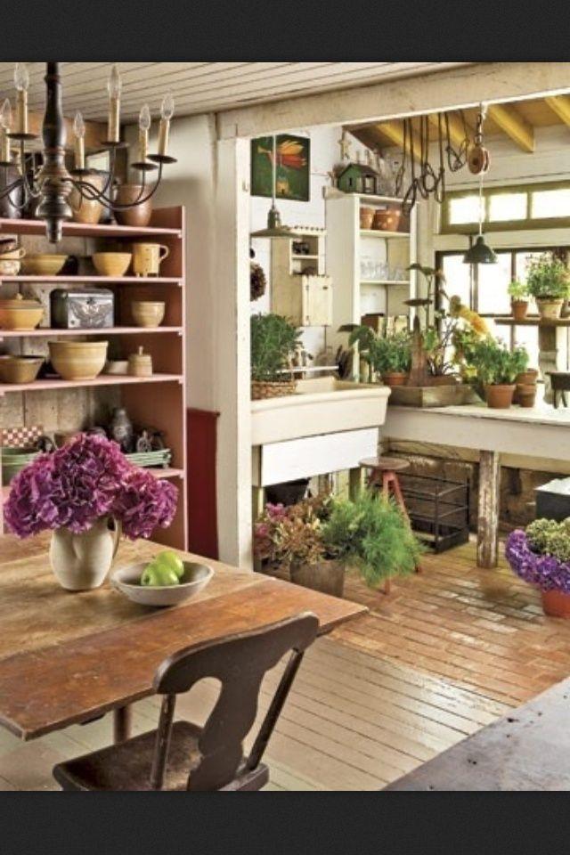 Potting Shed Interiors | potting sheds ♥ ~sandra de~Amaranthus~