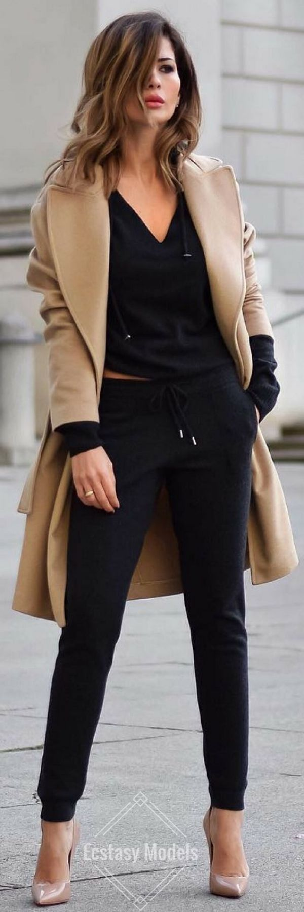 Trench Coat is Always a Great Idea ||| 85 Casual Work Outfits Ideas 2017