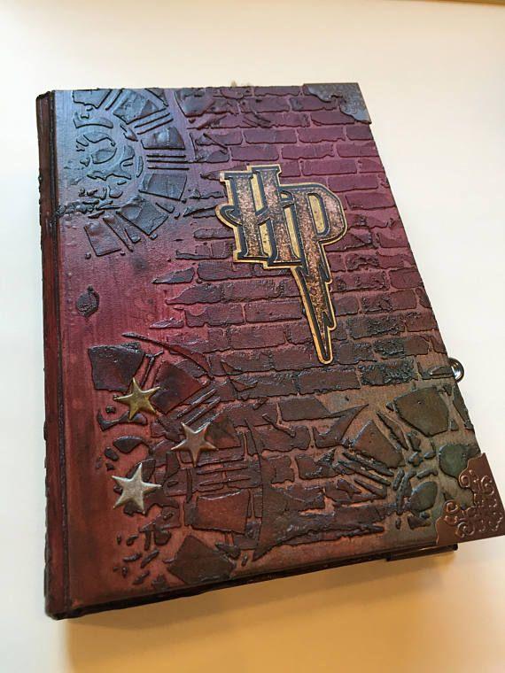 Harry Potter Inspired Scrapbook HARD cover Album