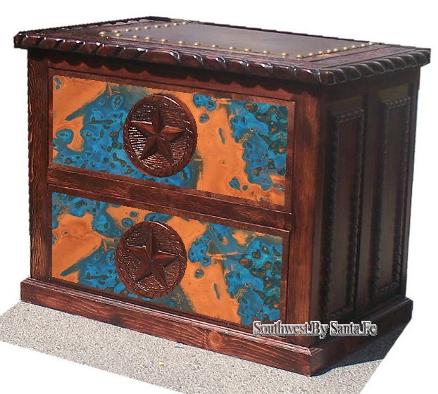Copper Laminants for Southwest Furniture Panels and Tops - incredible panels in many color styles - what a terrific source for  beautiful home decor materials.