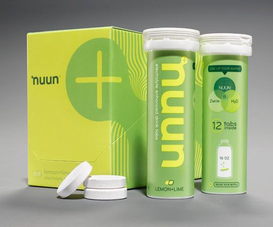 Designed by Creature | Country: United States  Creature, the Seattle and London-based international creative agency has revamped a suite of brand visuals for sports hydration brand, Nuun.