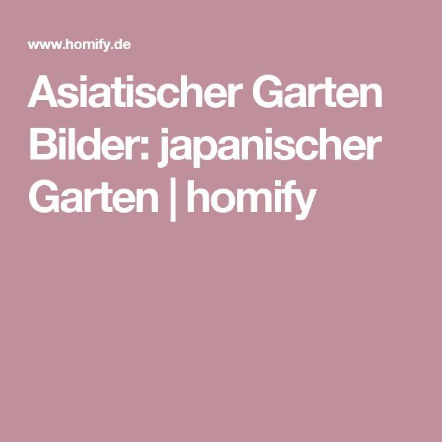 Asiatischer Garten Bilder: japanischer Garten | homify