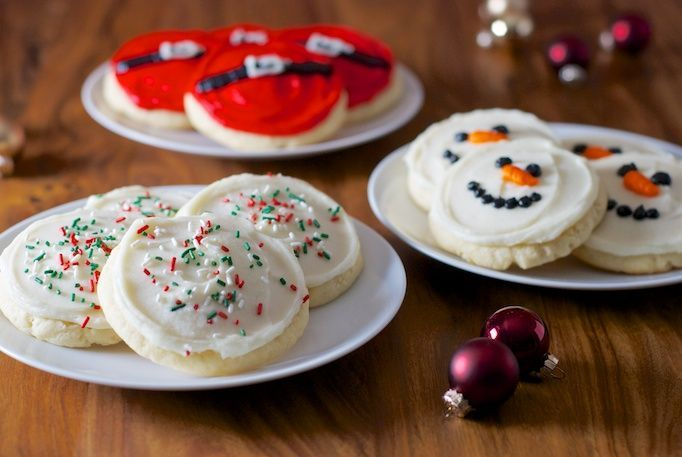 Sugar cookies with a soft buttercream frosting (like Cheryl's).