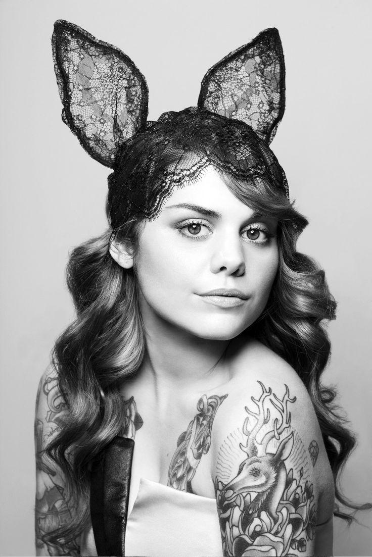 Singer Beatrice Martin aka Coeur de Pirate for FLARE magazine Photo: Régine Mahaux Stylist: Conrad Nadeau Makeup & Hair: Maïna using CHANEL cosmetic and TRESemmé