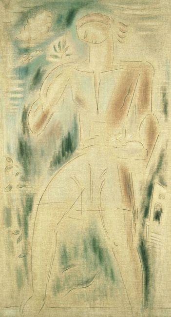 kaufen Gemälde'engel' von Konstantinos Parthenis - Kaufen Sie eine handgemalte Ölreproduktion , Kunstreproduktion, Ölgemäldereproduktionen, Kunst auf Leinwand, Kunstwerksreproduktion, Leinwand Ölgemälde Reproduktion Kunstwerk