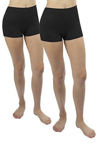 2x shorts de running femme noir Pantacourt Culotte shorts jupe robe tunique  sport vélo gym Sous-vetementsL 18f2951a12e