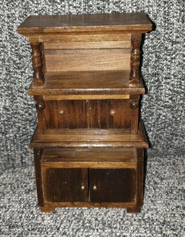 Puppenstube Mobel Schrank Holz