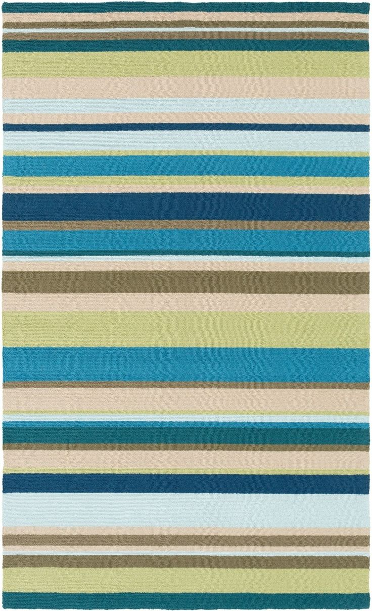 striped indoor coastal area outdoor pillows caronsbeachhs aqua cottages blues pinterest homes sea blue and cottage images best rugs rug accent lime on