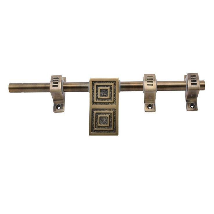 Klaxon TIGER Brass Latch (Antique Finish, 10 Inch)
