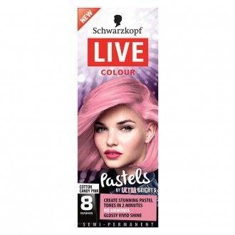 Schwarzkopf Live Colour Pastel Cotton Candy 1 pack