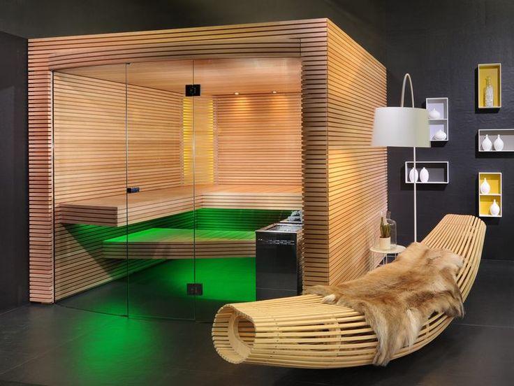 1094 best Sauna images on Pinterest Saunas, Steam room and Bathroom - sauna designs zu hause