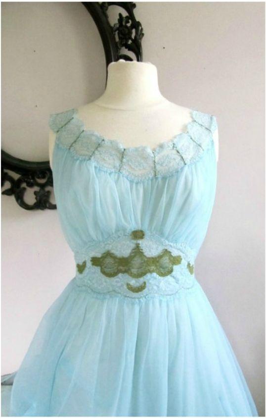 something blue reconstructed vintage bridal dress