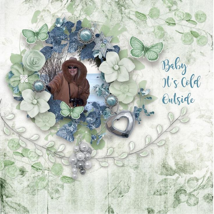 Baby It's Cold Outside created with Wintermorn Bundle by Booland Designs https://www.digitalscrapbookingstudio.com/digital-art/bundled-deals/wintermorn-bundle/