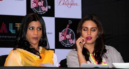 Huma Qureshi, Konkona Sen Sharma, Ekta Kapoor at 'Daayan' Book Launch