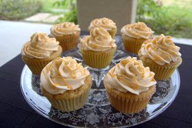 365 Days of Baking and More: Day 318 - Harry Potter Butterbeer Cupcakes for the Birthday Girl's 18th