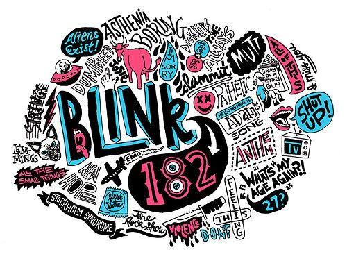 blink 182 <3333333333333333