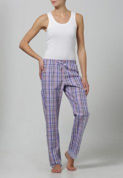 uncover by Schiesser - CITY GLAM  - Pyjama bottoms - lavender